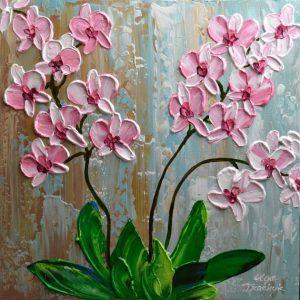 impasto orchids