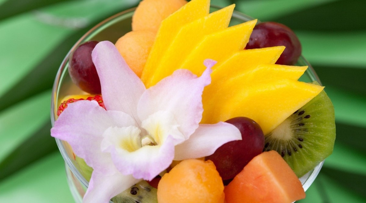 are orchid flowers safe to eat
